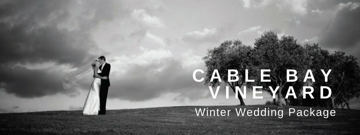 Cable Bay Winter Wedding Package